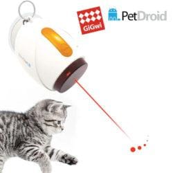 GIGWI PetDroid Boltz Hanging Automatic Interactive Laser Cat Toy - My Cat and Co.