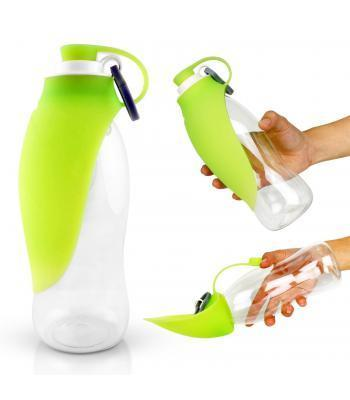 Leaf Water Bottle Green - My Pooch and Co.