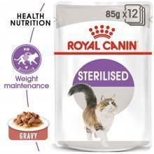 Royal Canin Sterilised Wet Food in Gravy - My Cat and Co.