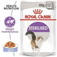 Royal Canin Sterilised Wet Food in Jelly - My Cat and Co.
