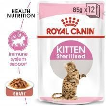 ROYAL CANIN Kitten Sterilised in Gravy - My Cat and Co.