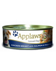 APPLAWS Dog Chicken Salmon 156g - My Pooch and Co.
