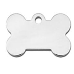 Chrome Bone Small - My Pooch and Co.