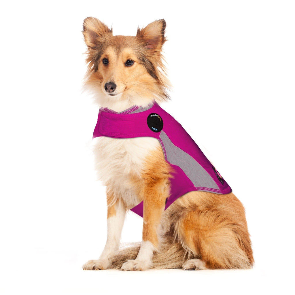 THUNDERSHIRT Polo Top Pink - My Pooch and Co.