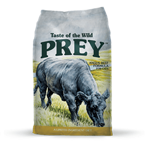 TASTE OF THE WILD Prey Angus Beef - My Cat and Co.