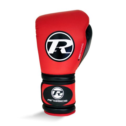 Pro Training G1 Glove - Red / Black Ringside Boxing UK Ringside Boxing UK ringside, boxing gloves, punch bags, head guard, abdo guard, focus pads