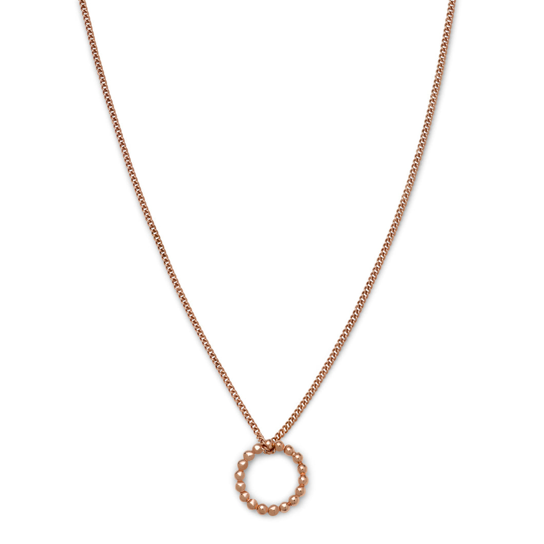 DIVI COLLIER Or Rose