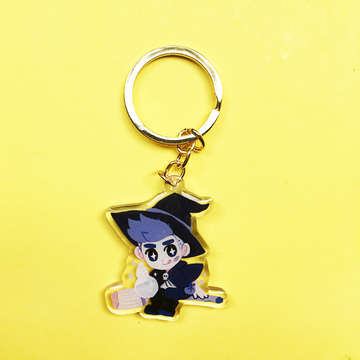 WITCH BOY ACRYLIC KEYCHAIN CHARM