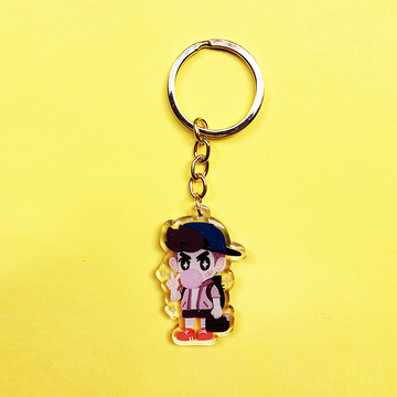 TOUGH GUY! ACRYLIC KEYCHAIN CHARM