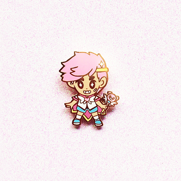 Magical Boy MAMO enamel pin