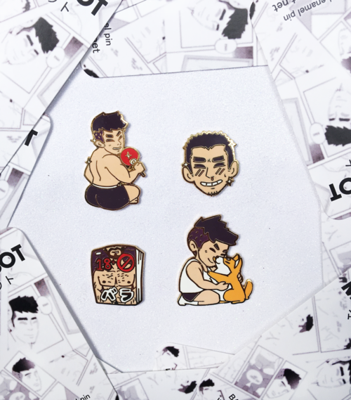 BARA ENAMEL PIN SET