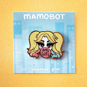BAD GIRL HARLEY QUINN [SUICIDE SQUAD] ENAMEL PIN