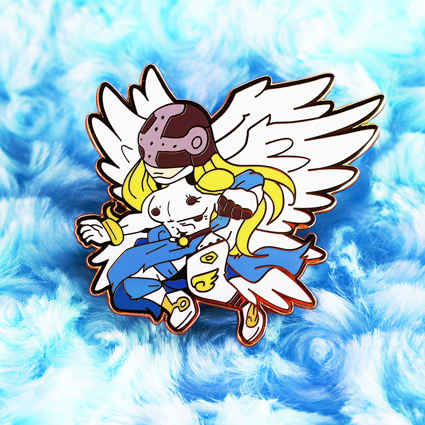 DIGIKING ANGEMON ENAMEL PIN