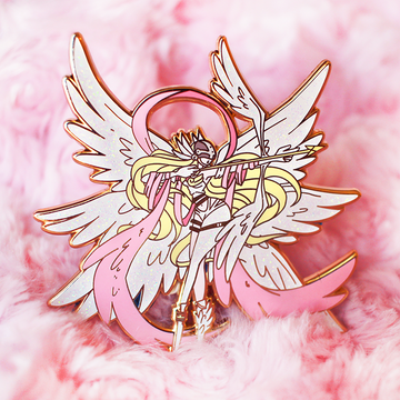 FASHION DIGIQUEEN ANGEWOMON ENAMEL PIN