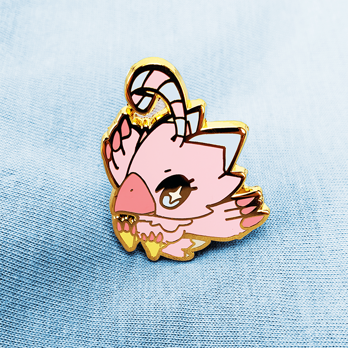 DIGIBABY BIYOMON ENAMEL PIN