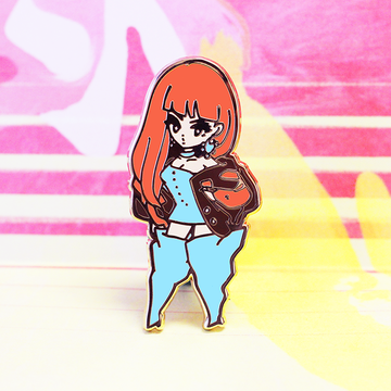 BLACKPINK LISA ENAMEL PIN