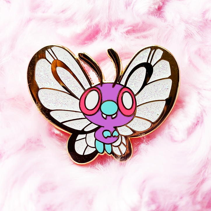 BABY BUTTERFREE [NORMAL] ENAMEL PIN