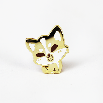 ZODIAC DOG GOLD ENAMEL PIN [LIMITED EDITION]