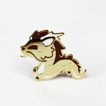 ZODIAC DRAGON GOLD ENAMEL PIN [LIMITED EDITION]