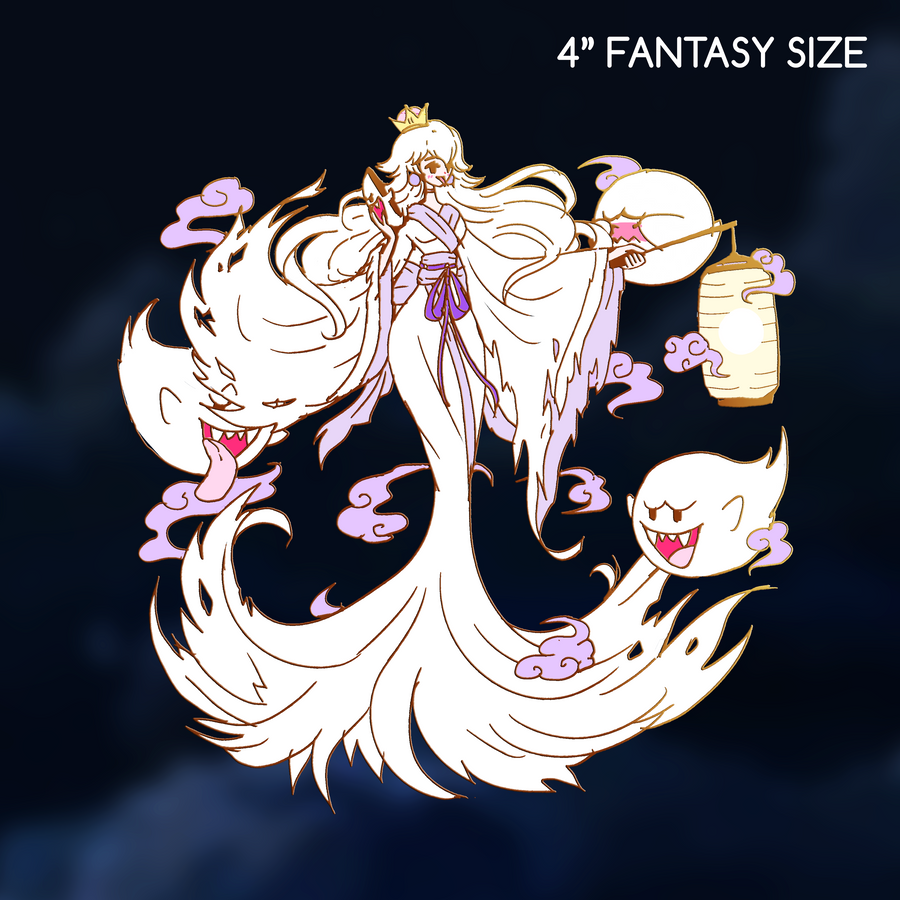 [READ DESCRIPTION] FANTASY BOOSETTE NINTENDOLL ENAMEL PIN [TWITCH COMMUNITY EXCLUSIVE]