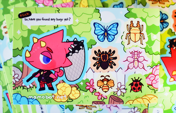 FLICK & FRIENDS STICKER SHEET