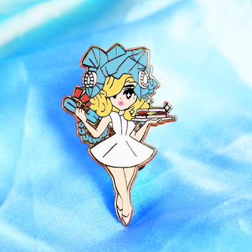 POP GIRL GAGA ENAMEL PIN [LIMITED EDITION]