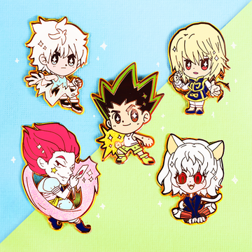 HUNTER X HUNTER FULL PIN SET [5 PC]