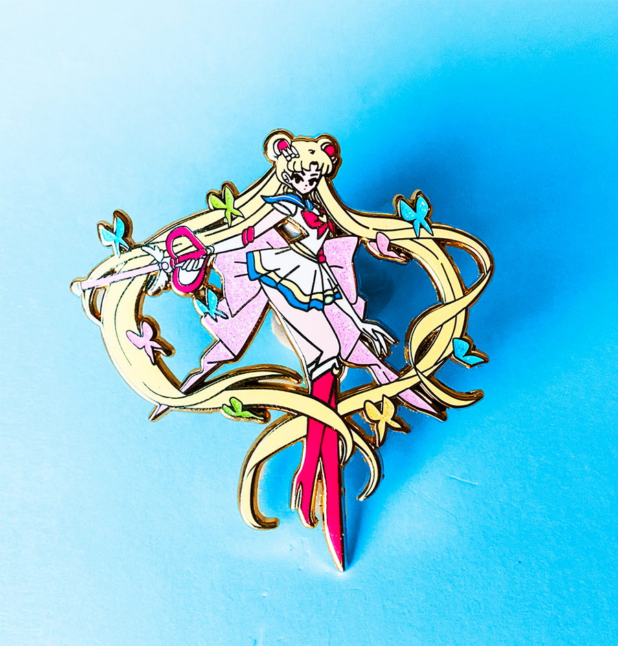 SUPER SAILOR MOON FASHION SCOUT ENAMEL PIN [LIMITED EDITION]