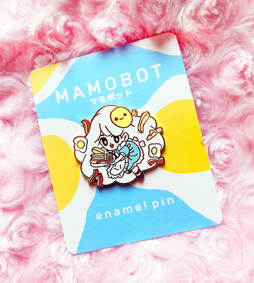 Waitress Olette Enamel Pin [JULY 2020]