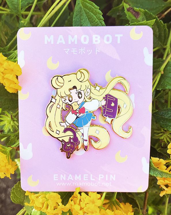 TOAST USAGI ENAMEL PIN