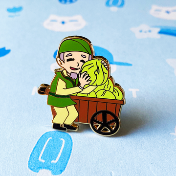 CABBAGE MAN ENAMEL PIN [AVATAR]