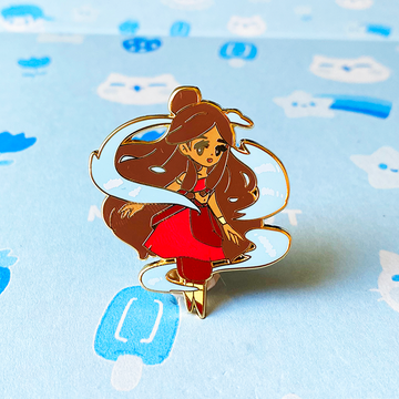 KATARA FIRE NATION ENAMEL PIN [AVATAR]