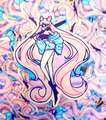 VINYL STICKER - BAD GIRL WICKED LADY