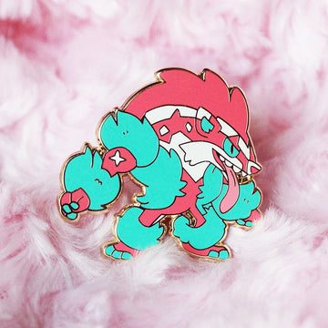 BABY SHINY OBSTAGOON ENAMEL PIN