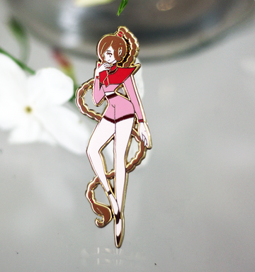 FIRE QUEEN TY LEE ENAMEL PIN [ FASHION AVATAR] [LIMITED EDITION]