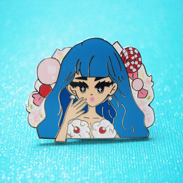POP GIRL KATY ENAMEL PIN