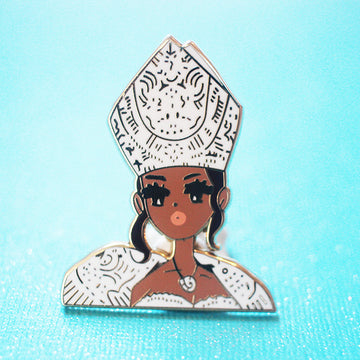 POP GIRL RIRI MET GALA 2018 ENAMEL PIN