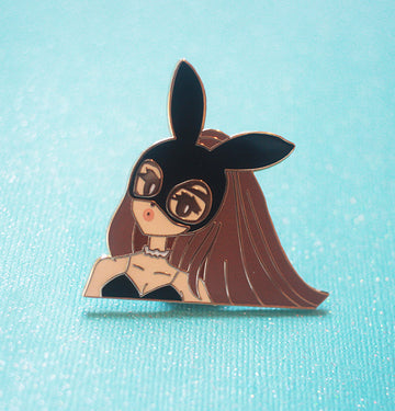 POP GIRL ARI DANGEROUS WOMAN ENAMEL PIN
