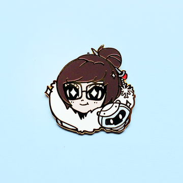 OVERWATCH MEI ENAMEL PIN