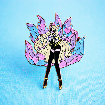 FASHION CHAMPION K/DA AHRI POPSTARS ENAMEL PIN