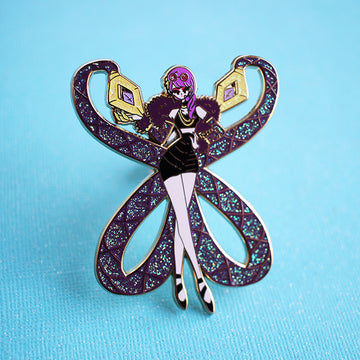 FASHION CHAMPION K/DA EVELYNN POPSTARS ENAMEL PIN