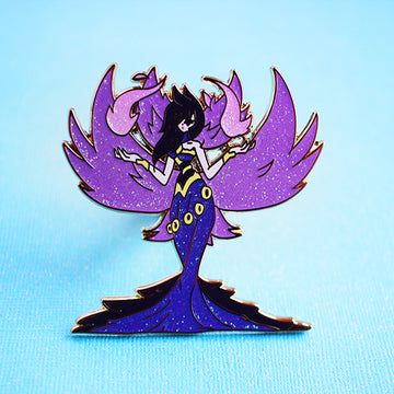 MORGANA ENAMEL PIN [FASHION CHAMPION] [LIMITED EDITION]