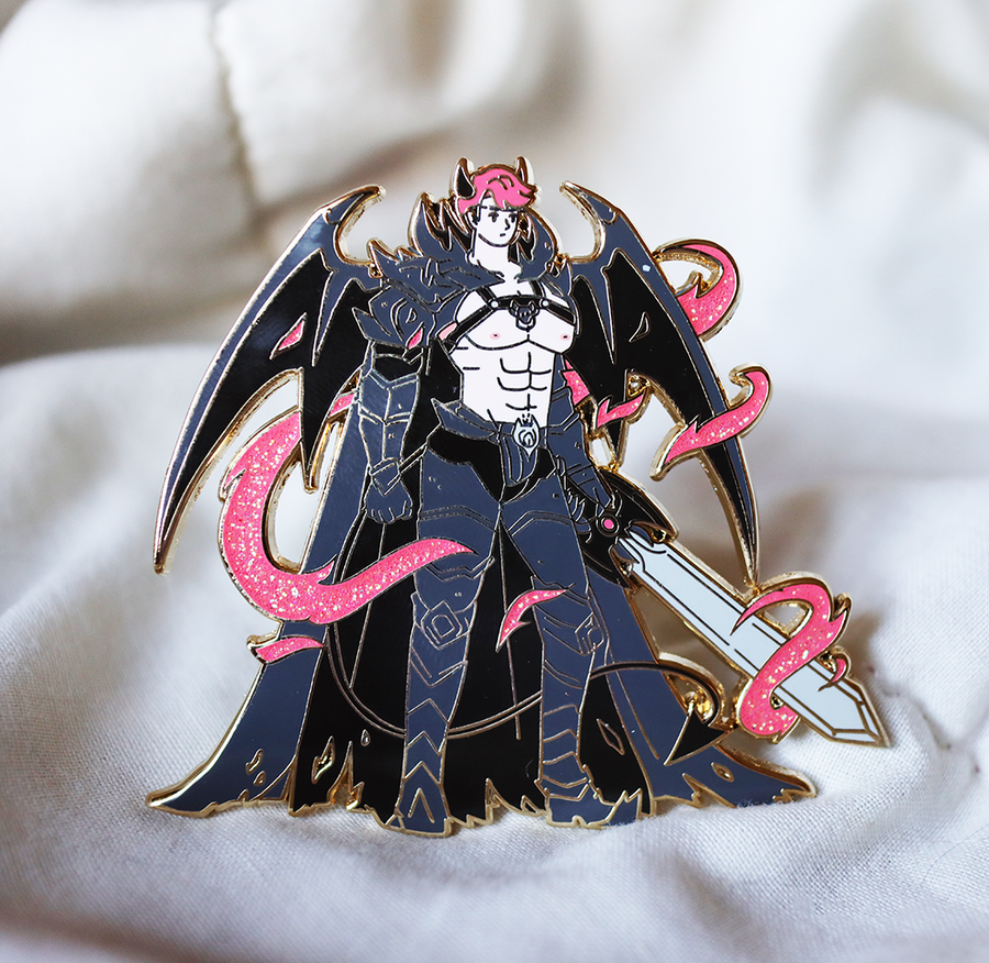 INCUBUS KNIGHT ENAMEL PIN [PATREON]