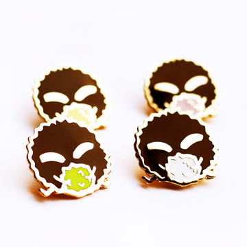 SOOTY SOOTS ENAMEL PINS
