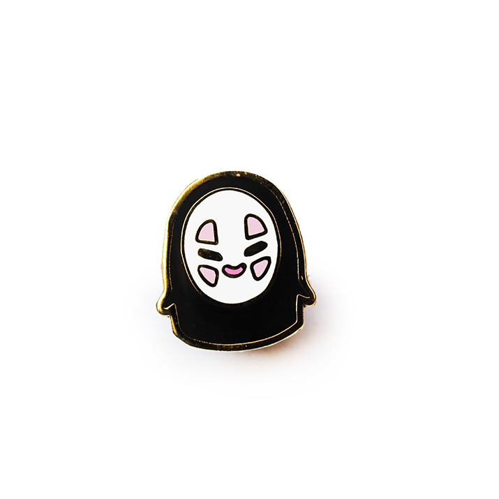 BABY NO FACE ENAMEL PIN