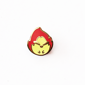 BABY CALCIFER ENAMEL PIN