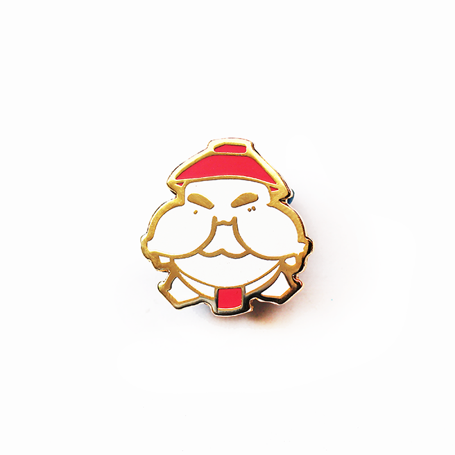 BABY RADDISH SPIRIT ENAMEL PIN