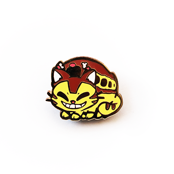 BABY CAT BUS ENAMEL PIN