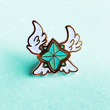 STAR GUARDIAN CHARM ENAMEL PIN - SORAKA
