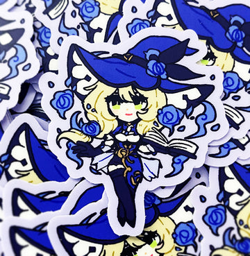 GENSHIN GUARDIANS - LISA VINYL STICKER